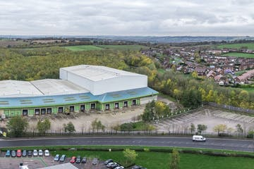 Park Road, Holmewood, Distribution Warehouse To Let - Tangerine Confectionary Limited, Chesterfield, Aerial Images - Pacific Industries-M1 Agency - by DroneScope 0.jpg