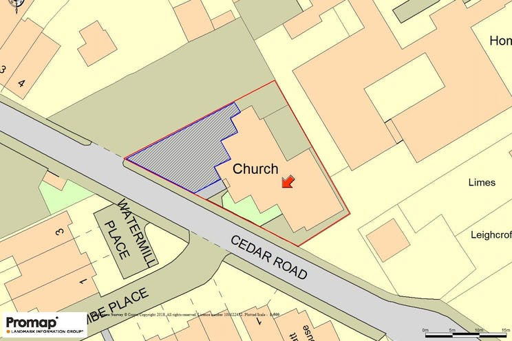 Former Methodist Church, Cobham, Development (Land & Buildings), D1 Premises For Sale - Promap Image.jpg