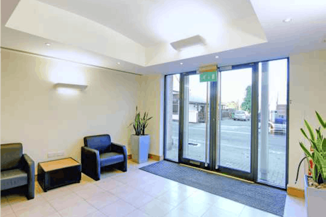 Charta House, Church Street, Staines-upon-Thames, Offices To Let - Charta House Staines reception.png