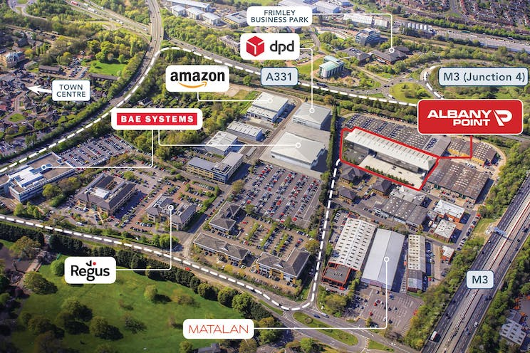Albany Point, Albany Park, Frimley, Warehouse & Industrial To Let - albany2.jpg