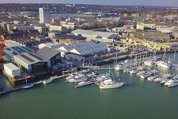 Unit 10 Ocean Quay Marina, Southampton, Office / Industrial To Let - marina aerial 2016.jpg