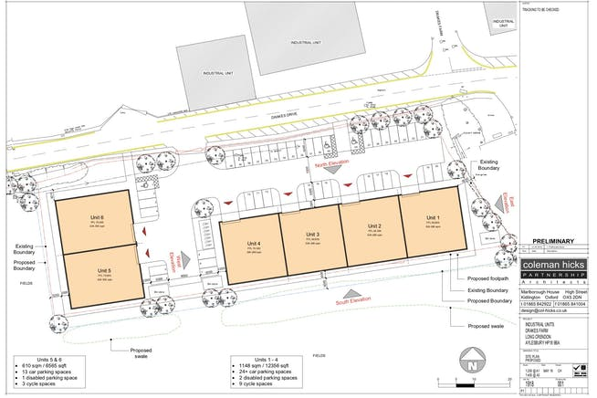Industrial Development Land, Drakes Drive, Long Crendon, Industrial / Investment To Let / For Sale - SITE PLAN.jpg