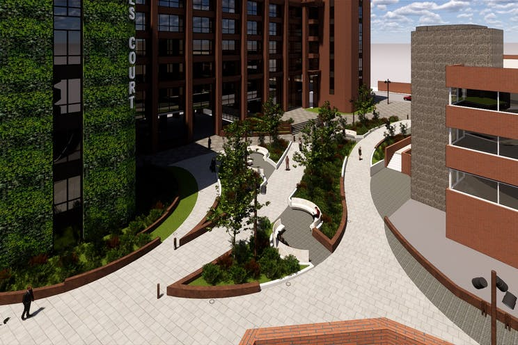 Dukes Court, Woking, Offices To Let - Dukes court proposed external4.jpg