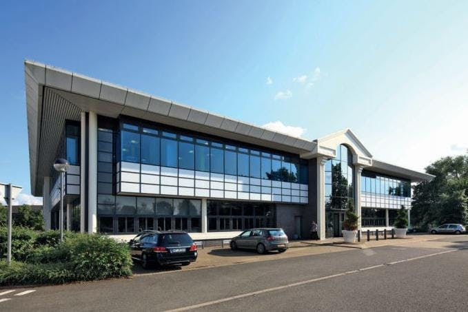 Eleven Watchmoor Park, Camberley, Offices To Let - Front elevation.JPG