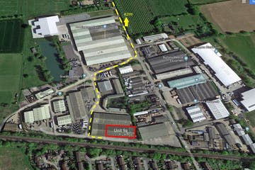 Unit 18 Wheelbarrow Park ( Formally Unit 9a), Pattenden Lane, Marden, Warehouse / Industrial To Let - Ariel Marden Unit 9a - Details.jpg