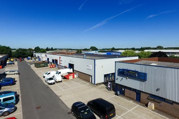 Unit 3 The Paddock Trading Estate, Newbury, Industrial To Let - PaddockElevated-10.jpg