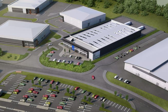 Plot 1 - R-Evolution @ The AMP, Brunel Way, Rotherham, Industrial For Sale - Waverley AMP  Building Layouts Architects Impression.jpg