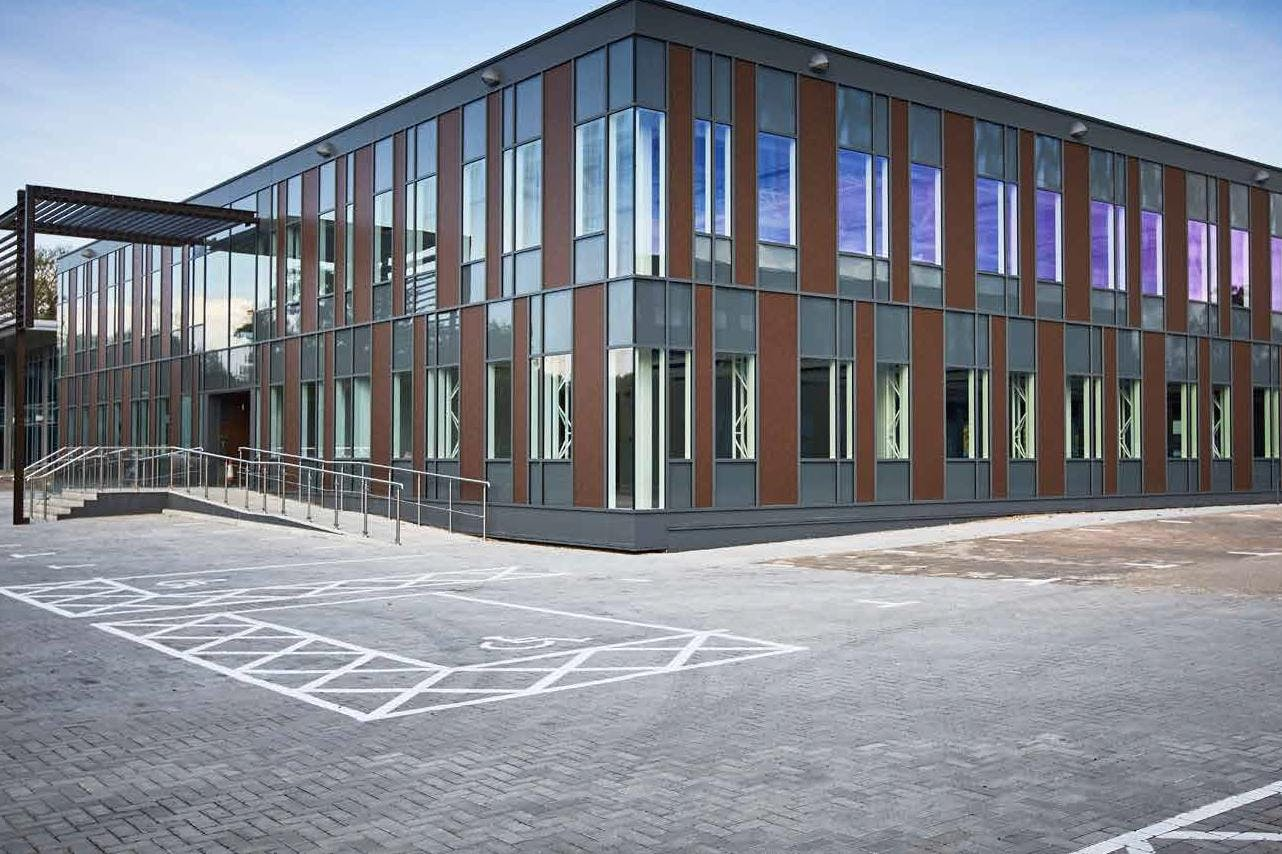 4 The Sector, Newbury Business Park, Newbury, Offices To Let - Side Elevation.jpg
