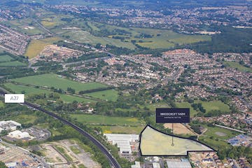Residential Development Opportunity, Kingscroft Farm, Havant, Land For Sale - KIN002_Brochure_Aerial_V1.jpg