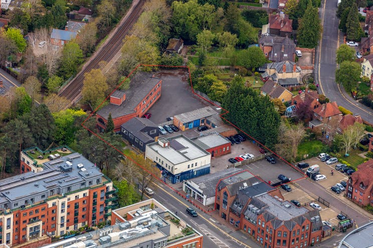 84-100, Park Street, Camberley, Development (Land & Buildings) / Investment Property / Offices / Retail For Sale - HLP_OB_210505_9943 main site low level.jpg