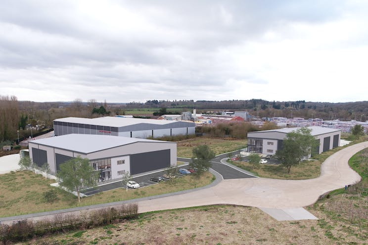 Beenham Eco Park, Duncans Drive, Reading, Industrial To Let - Beenham Eco Park