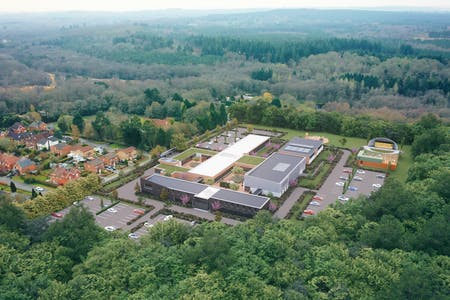 GU30, Lynchborough Road, Liphook, Office To Let / For Sale - Drone01outline__00009.jpg