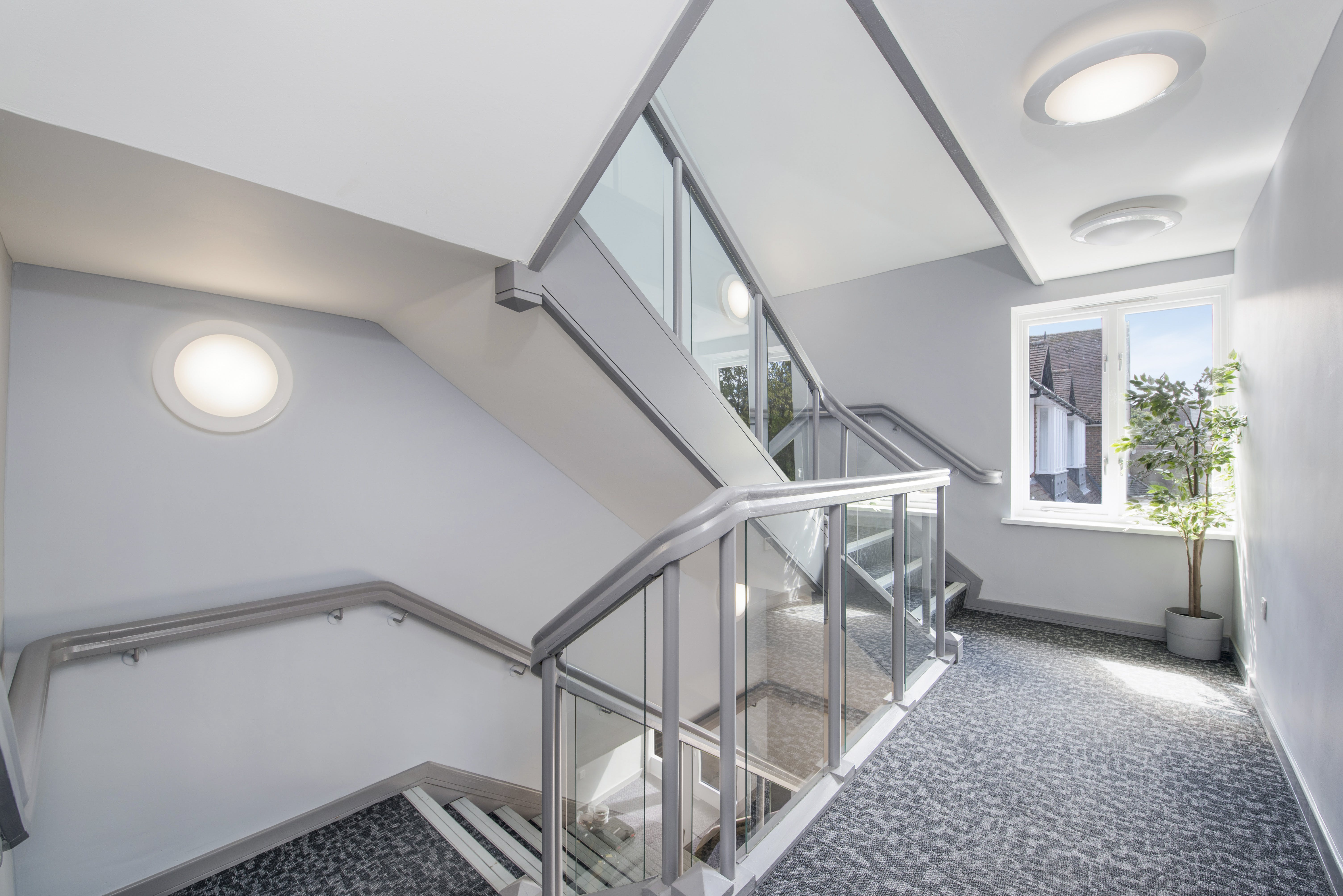 Suite 4 Masters Court, Church Road, Thame, Office To Let - STAIRS.jpg