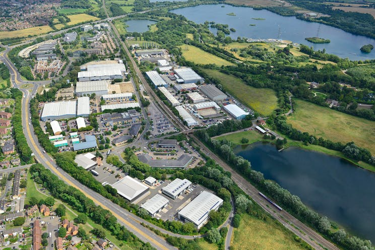 Unit 1 Total Park, Theale, Reading, Industrial To Let / For Sale - AerialPhoto.jpg