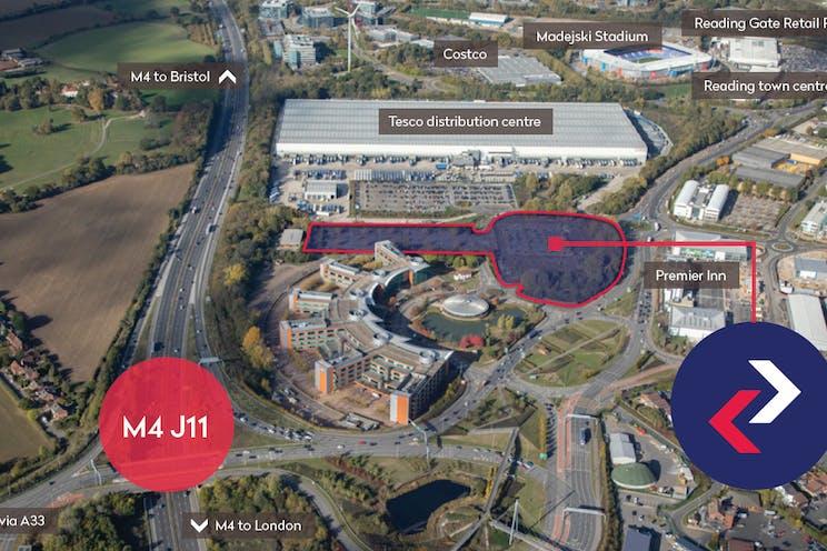 Unit 2, Reading International Logistics Park, Reading, Industrial To Let - Aerial Image.jpg