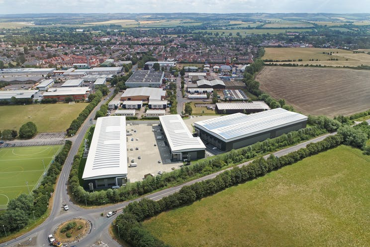 Verda Park, Hithercroft Road, Wallingford, Industrial To Let - Verda Park Aerial View