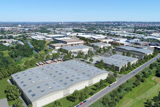 New Horizon, Thane Road, Nottingham, Distribution Warehouse To Let - CGi for 6 unit scheme.jpg