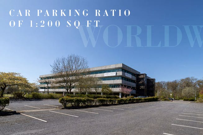 Worldwide House, Thorpe Wood, Peterborough, Office To Let - External photo from ground level.JPG
