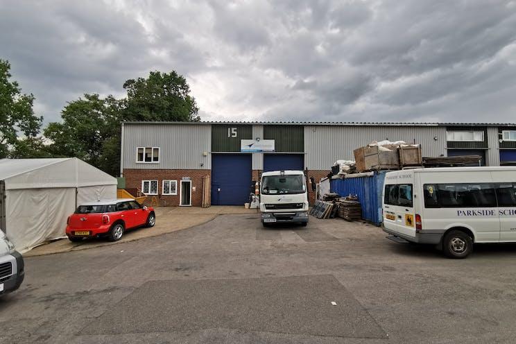 Unit 14 & 15 Bookham Industrial Estate, Bookham, Warehouse & Industrial To Let - Unit1415ExternalJune20.jpg