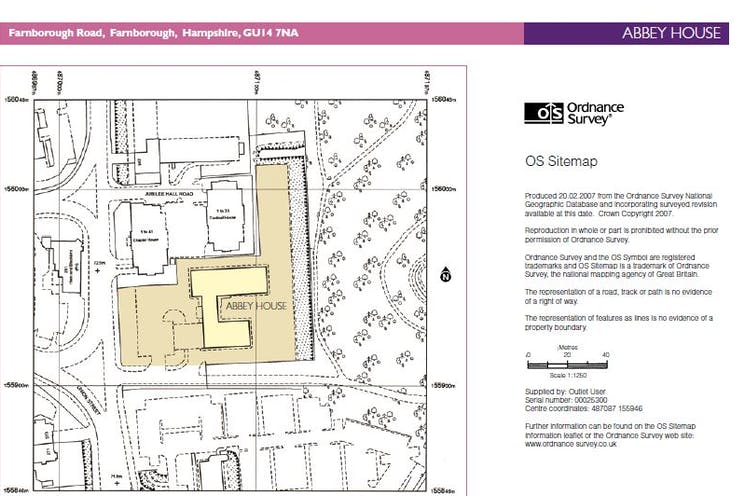 Arena Business Centre, Abbey House, Farnborough, Offices To Let - map
