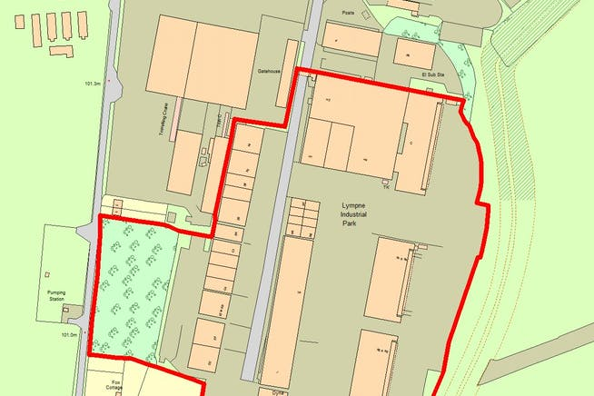 Lympne Distribution Park, Otterpool Lane, Hythe, Warehouse / Industrial To Let - A.346.Master OS Map.jpg