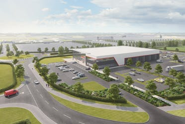 Plot K, Silverstone Park, Towcester, Industrial To Let - Silverstone CGI.PNG - More details and enquiries about this property