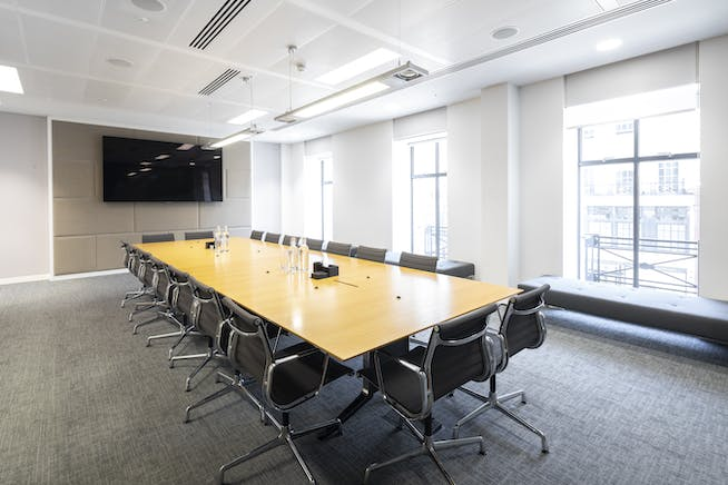 10 New Burlington Street, Mayfair, London, Office To Let - 10 New Burlington Street fitted office