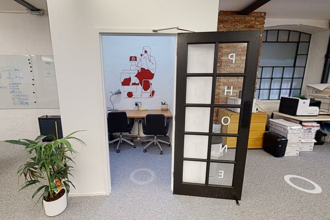 4 Valentine Place, London, Offices To Let - Phone Booth