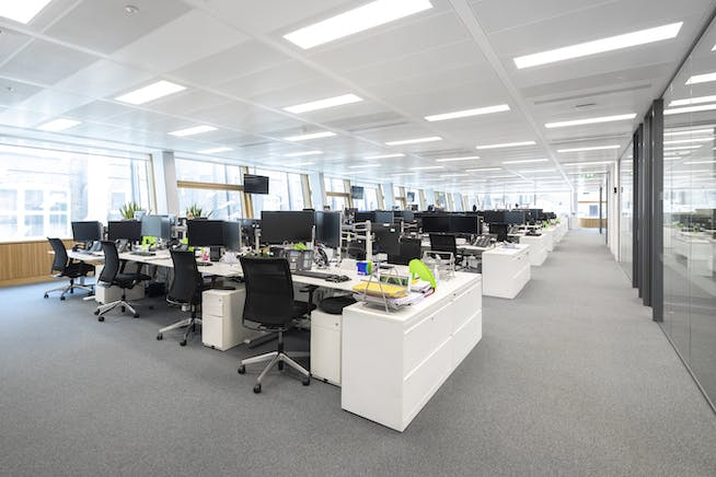 10 New Burlington Street, Mayfair, London, Office To Let - 10 New Burlington Street fitted office.jpg