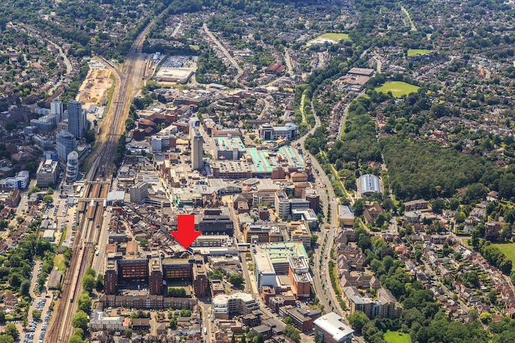 Dukes Court, Woking, Offices To Let - Dukes Court aerial photo.jpg