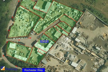 Plot 30 The Old Orchard, Rochester Way, Crayford, Land To Let - Plot 30 Site Map.jpg