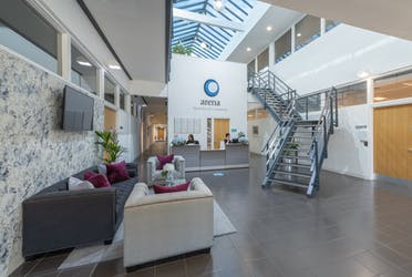 Arena Business Centre, 25 Barnes Wallis Road, Fareham, Offices To Let - Reception 2.jpg - More details and enquiries about this property