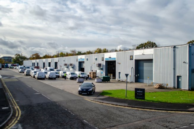 Units 8 & 9, Bilton Road, Basingstoke, Warehouse & Industrial To Let - Units 8  9 Bilton Road Front street.PNG