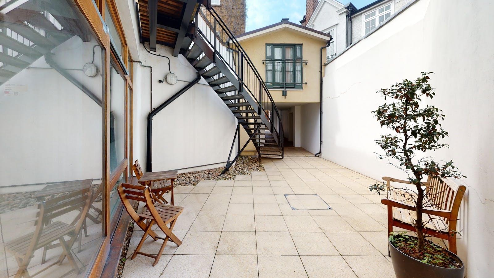 Studio 10 Tiger House, Burton Street, London, Office To Let - Studio10TigerHouseStaircase.jpg
