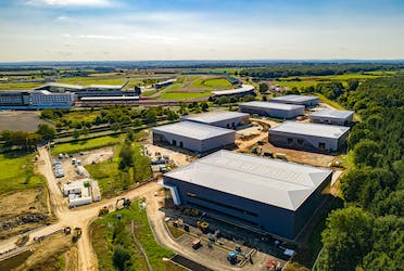 Unit 1144, Silverstone Park, Silverstone, Industrial To Let - Silverstone Drone Oct.jpg - More details and enquiries about this property