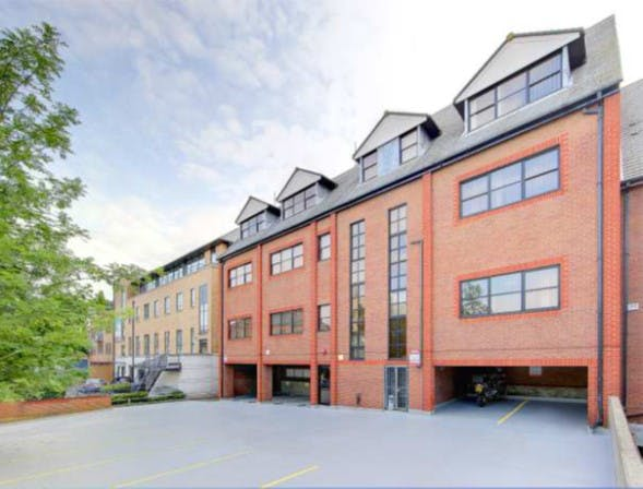 Church House, Staines-upon-Thames, Office To Let - Church House Staines raer elevation.jpg