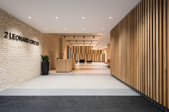 2 Leonard Circus, London, Offices To Let - Reception (1)
