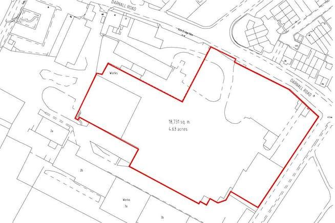 Darnall Works, Darnall Road, Sheffield, Development (Land & Buildings) / Open Storage Land For Sale - Plan - Darnal Works - Commercial Land Sheffield - For Sale.jpg