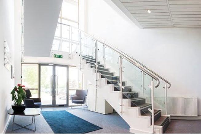 6 Elmwood, Crockford Lane, Basingstoke, Office To Let - Staircase.jpg