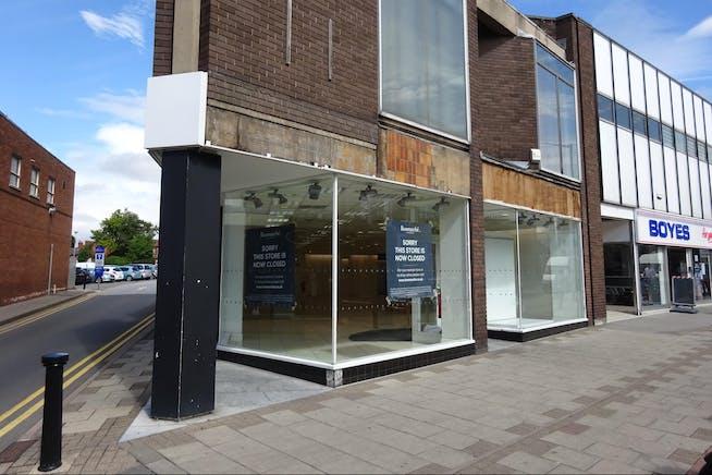 38 Bridge Place, Worksop, Retail / Restaurant To Let - Front_38_Bridge_Place_Worksop.JPG