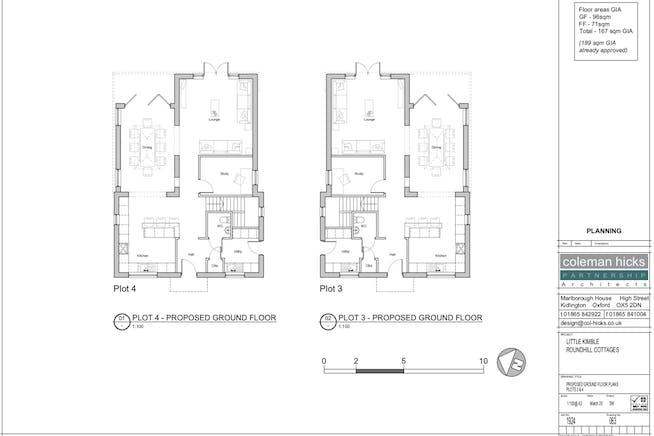 Building Plots, Roundhill Cottages Kimblewick Road, Little Kimble, Residential For Sale - PROPOSED GND FLRS.jpg