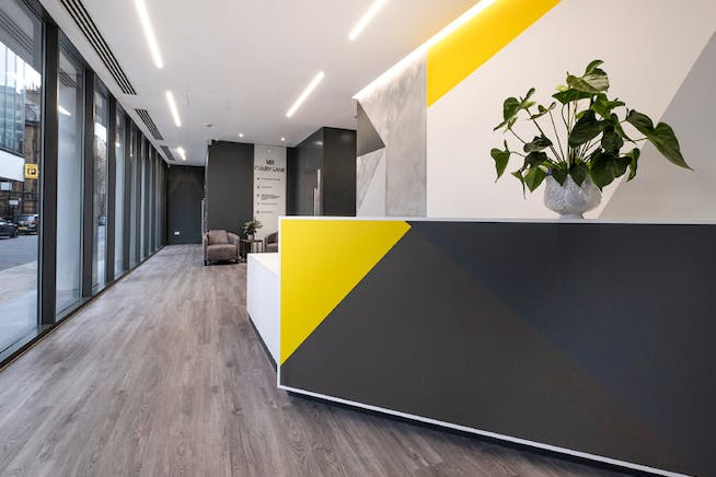 Drury Works, 161 Drury Lane, London, Offices To Let - DW Reception 1