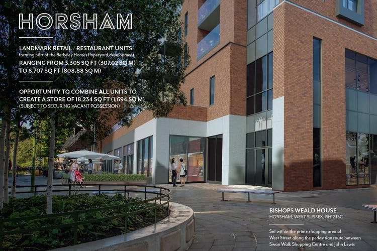 Bishops Weald House, Horsham, Retail To Let - CGI front.JPG