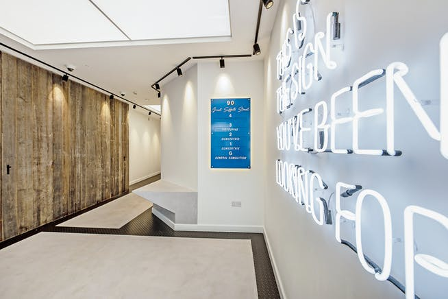 Pegasus House, London, Offices To Let - Entrance Lobby