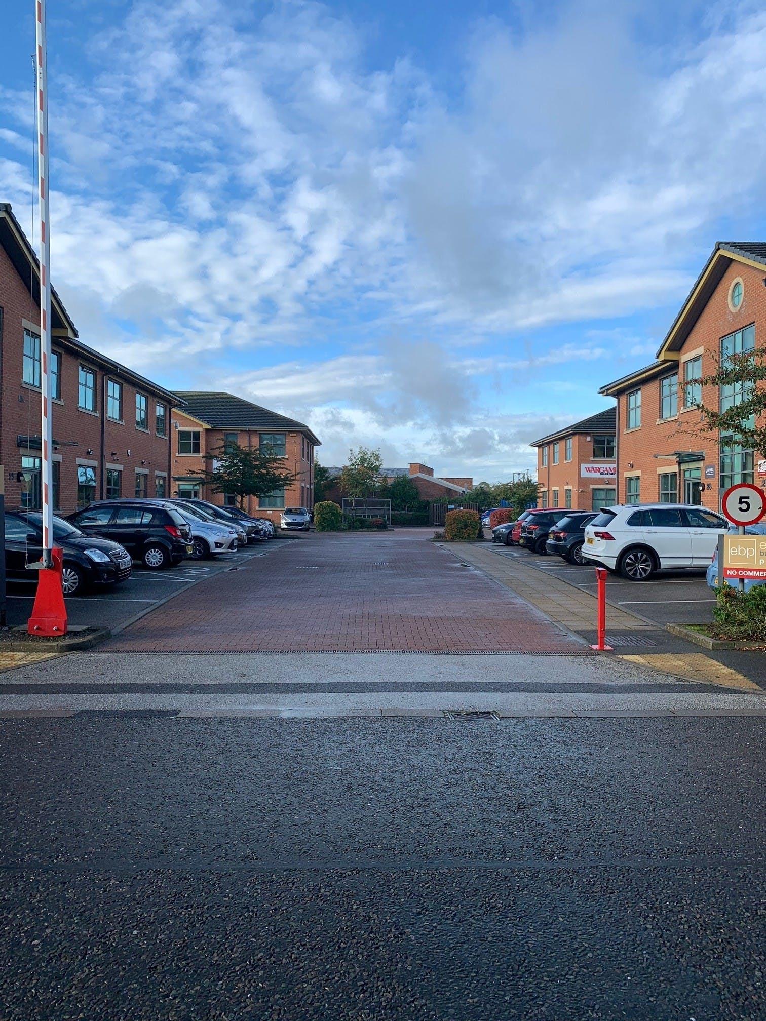 Unit 32 Eldon Business Park, Eldon Road, Nottingham, Office To Let - Eldon Business Park entrance.jpg