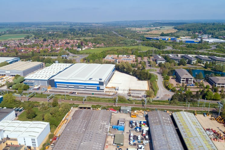 135 Theale Logistics Park, Theale, Reading, Industrial / Office To Let - 135 PC Drone_0071.jpg