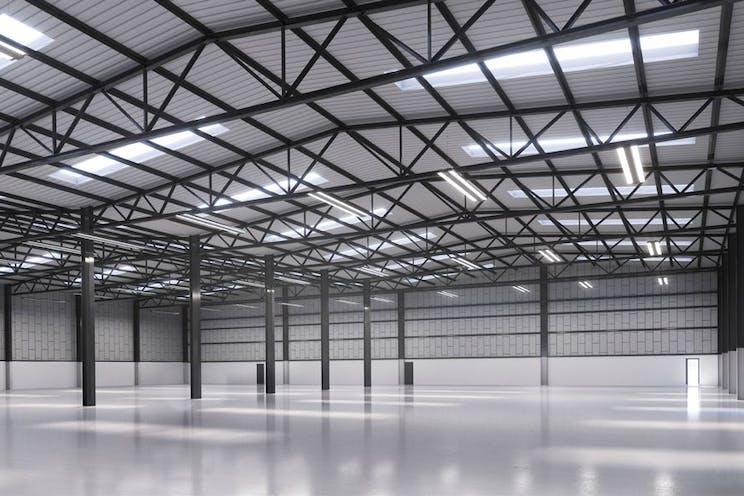Unit 4 Worton Grange, Reading, Industrial To Let - CGI Refurbished Interior