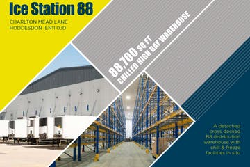 Ice Station 88, Hoddesdon, Distribution Warehouse To Let / For Sale - Hoddesdon chiller.JPG