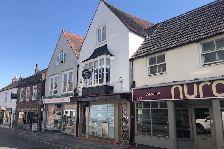 24 Chertsey Street, Guildford, Retail To Let - FrontRedLine.jpg