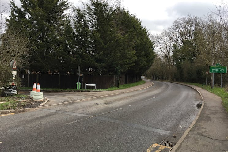 Woodlands Farm, Wokingham, Development, Land For Sale - Entrance to Wood Lane